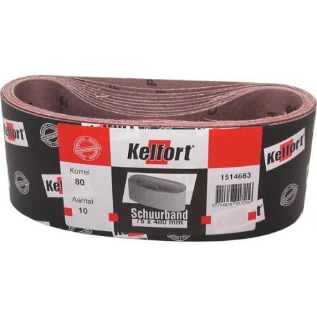 10 St Schuurband 75x610 mm K80