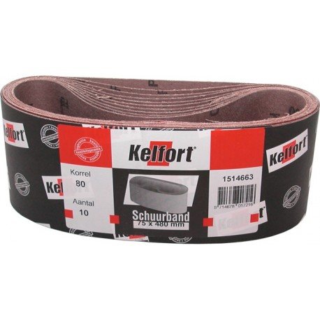 10 St Schuurband 75x610 mm K100