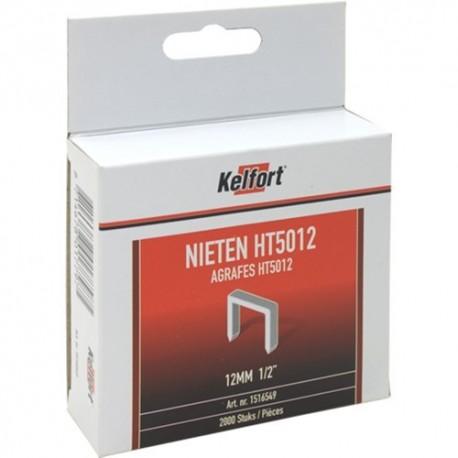 Niet geg. 2000st/doos 12mm 1/2 HT50