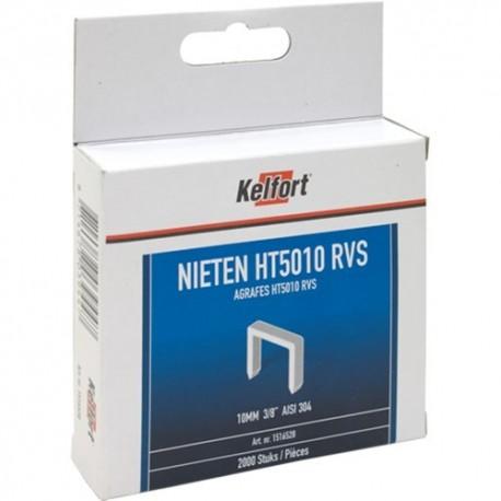 Niet RVS 2000st/doos 10mm 3/8 HT50