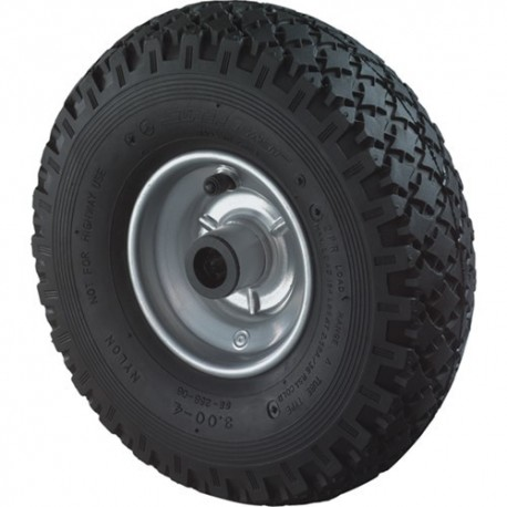 Luchtband staal velg 260mm met rollager