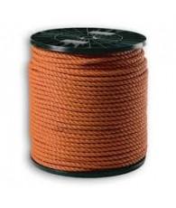 Touw polyprop oranje 10mm 220M