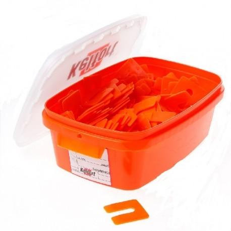 Uitvulplaatje 2mm oranje 345st