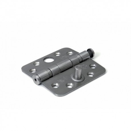 Kogellagerscharnier DX rond 89x89mm RVS SKG