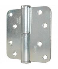 Oxloc Kogelstiftpaumelle rond 89x89mm RVS R