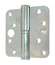 Oxloc VH Kogelstiftpaumelle rond 89x89mm RVS L