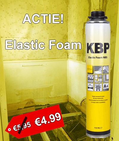 KBP Elastic foam. De betaalbare elastische purschuim.