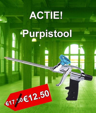 Actie purpistool in prijs verlaagd. Van €17.50 naar €12.50